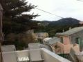 maison vue terrasse montagne